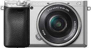 ソニー SONY ミラーレス一眼 α6400 パワーズームレンズキット E PZ 16-50mm F3.5-5.6 OSS シルバー ILCE-6400L S