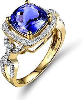 Best princess cut tanzanite engagement rings Reviews