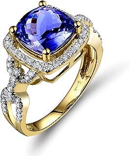 Best princess cut tanzanite engagement rings Reviews
