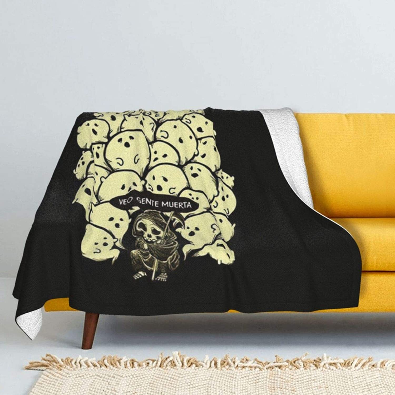 I See Year-end annual account Dead People Lamb Wool Super Soft Genuine Double-Side Throw Blanket
