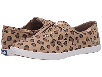 Keds Chillax Seasonal Solid (Leopard Washed Twill) Women