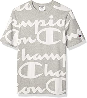 Men's All-Over Script Logo Tee
