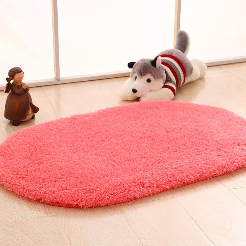 DXG&FX Fashionable bathroom door suction mat indoor mats floor mats for bedroom -G 80x200cm(31x79inch)