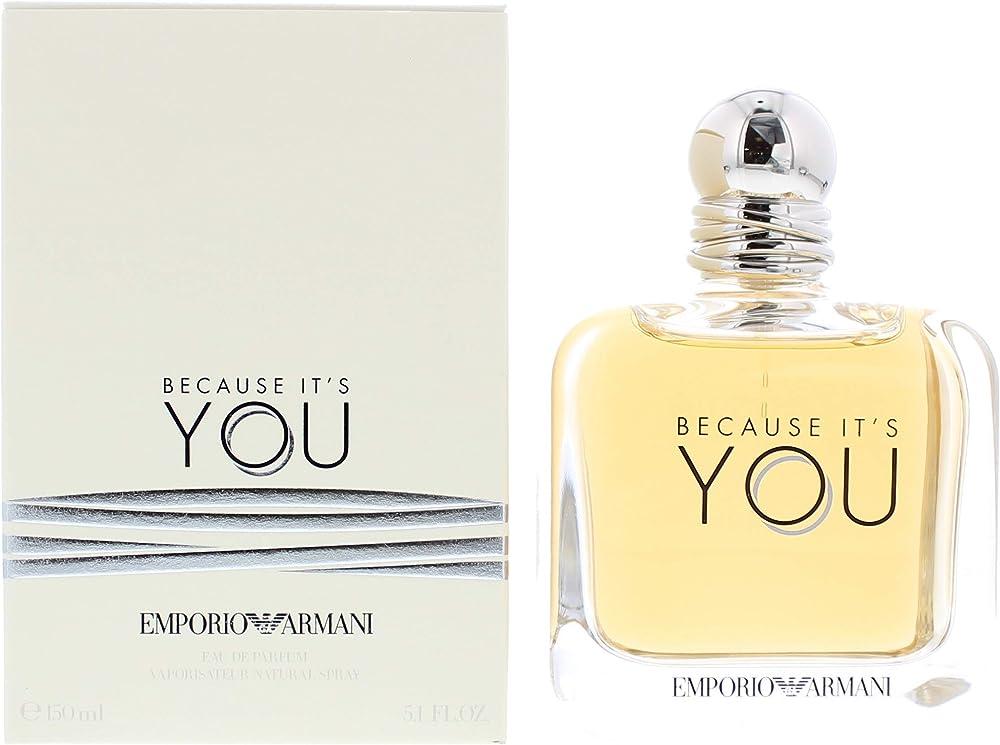 Emporio armani  because it`s you,eau de parfum da donna,50 ml 10010612