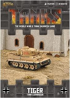 Gale Force 9 Tanks German Tiger Tank Expansion (Desert) Board Games