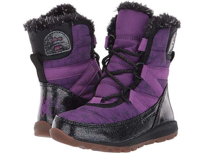 SOREL Kids Disney X Sorel Whitney™ Short Frozen 2™ Boot- Anna Edition (Toddler/Little Kid)