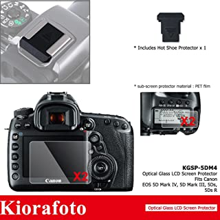 Vello Umbra Screen Protector with LCD Shade for Canon EOS 7D Mark II