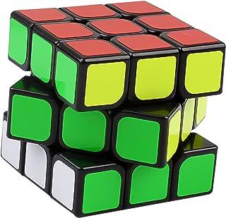 YJ Guanlong Magic Cube Black 3 x 3 x 3