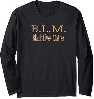 Black Lives Matter Political Protest Long Sleeve T-Shirt