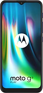 هاتف موتورولا موتو G9 بلاي XT2083 ثنائي شريحة الاتصال 64 جيجا بايت + 4 جيجا رام فاكتوري غير مقفل 4G/LTE الذكي - الإصدار ال...