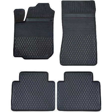 Ko Xgum Gummimatten Fußmatten Mit Hohem 2 5 Cm Rand Geeignet Zur Hyundai Terracan 2001 2007 Ideal Angepasst 4 Teile Ein Set Auto