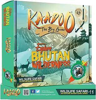 KAADOO - The BIG GAME to Discover Bhutan's Wild Animals - Knowledge-building Educational Adventure Safari Board Game for K...