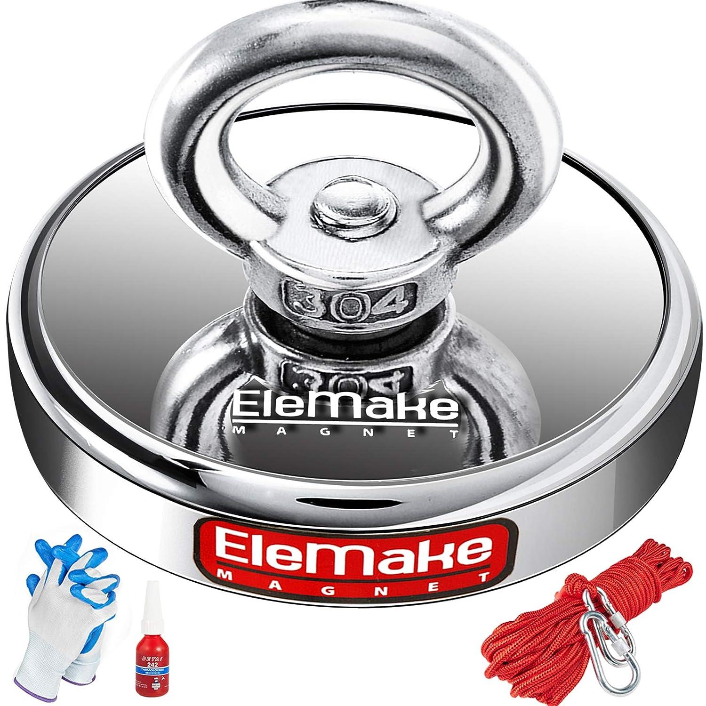 Elemake Magnet Fishing Detroit Mall Kit - Strong 40 Dedication N55 with Neodymium