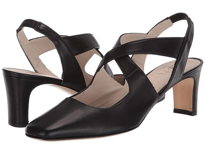 Amalfi by Rangoni  Stan (Black Parmasoft) Womens  Shoes