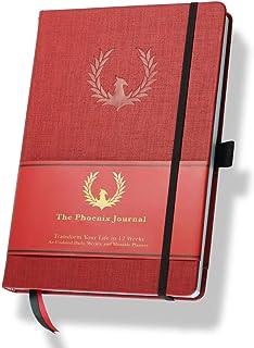 $24 » The Phoenix Journal - Best Daily Goal Planner, Organizer, & Calendar for Goal Setting, Gratitude, Happiness, & Productivit...
