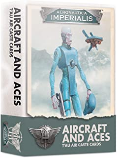 Games Workshop - AERONATICA IMPERIALIS: Aircraft & ACES Tau AIR Caste Cards