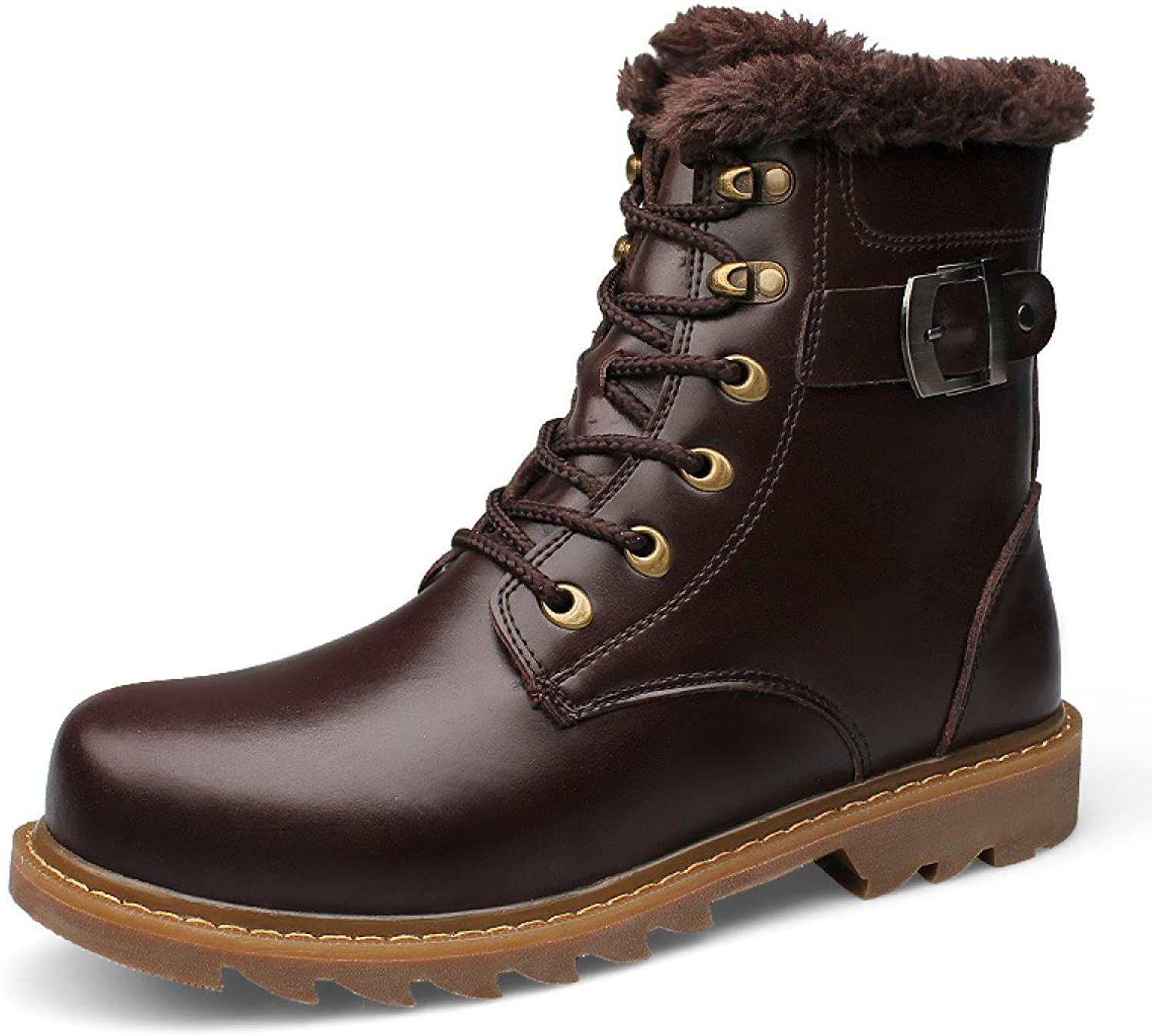 Autumn And Winter Men Europe And The United States Martin Boots Men Tooling Leather Boots