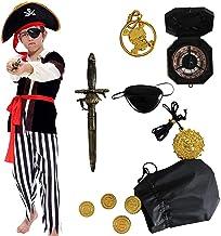 Tacobear Disfraz de Pirata Niño con Accesorios Pirata