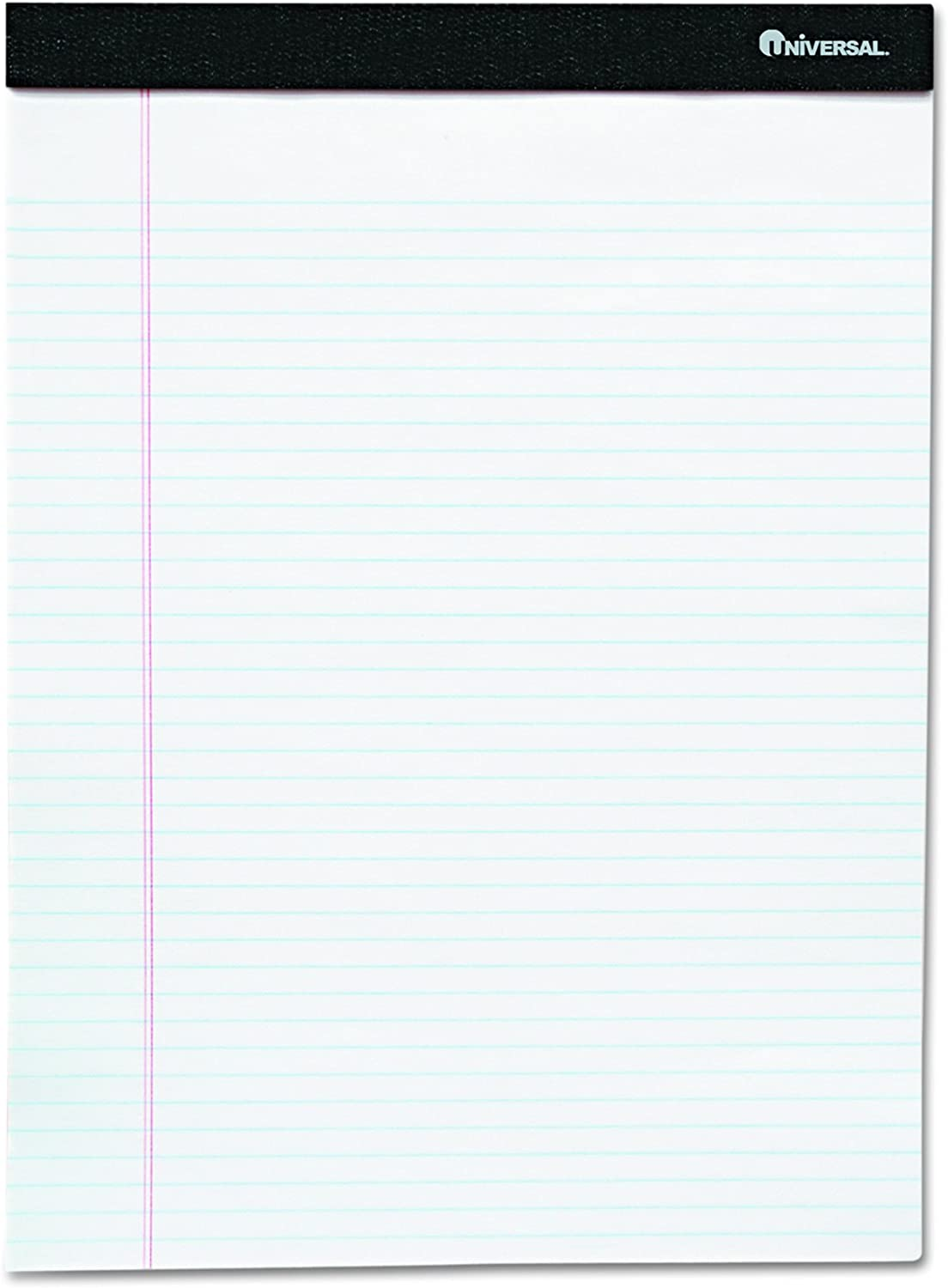 Universal 57300 Premium Ruled Free Surprise price Shipping New Writing Pads x Legal White 8 5