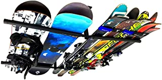 StoreYourBoard Ski and Snowboard Ceiling Storage Rack, Hi Port 2 Overhead Hanger Mount