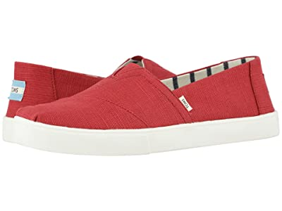 TOMS Alpargata Cupsole (Red) Men