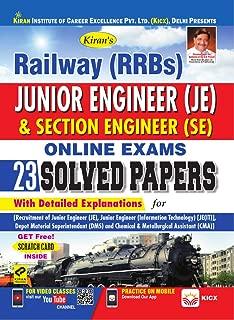 KIRAN'S RAILWAY (RRBS) JUNIOR ENGINEER & SECTION ENGINEER ONLINE EXAM