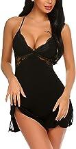 Avidlove Women Lingerie Lace Chemise Sleepwear Babydoll Teddy Lingerie