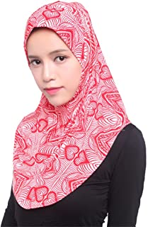 GladThink Womens Ice Silk Muslim Hijab Headscarf