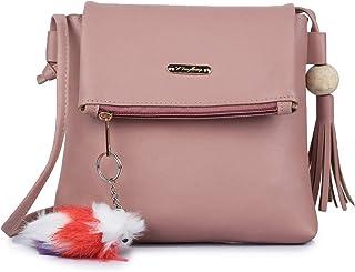 GLOSSY Women's Sling Bag (vs7770821_Pink)