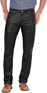 bockle mens leather pants