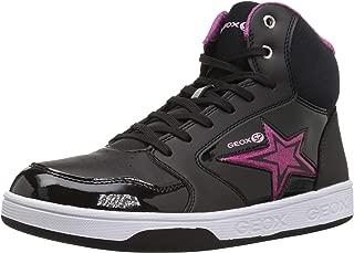Geox Kids' Maltin Girl 13 High Top Sneaker