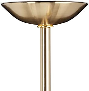 Relaxdays Lampadario GLOBI lampada a sospensione da soffitto, paralume a sfera in vetro, HxLxP 75x45x30 cm, ottone opacizzato