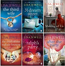 Lisa Jewell 6 Books Collection Set Series 2 (The Third Wife, 31 Dream Street, The Making of Us, The Truth About Melody Browne, Ralph's Party, After the Party)