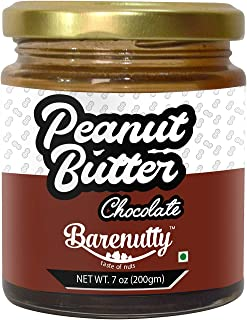 BARENUTTY Peanut Butter with Chocolate (Stone Ground) - 200g