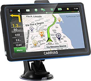 $65 » CARRVAS GPS Navigation for car 7-inch Touch Screen Voice Navigation car 8G 256M Memory Over-Speed Warning, The Latest map ...