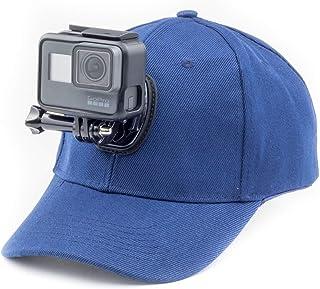 Digicharge Basebollkeps hatt med actionkamerahållare monteringskonsol kompatibel med GoPro Max Hero Akaso Crosstour Campar...