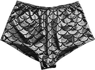Sexy Lingerie Women High Waist Scale Mermaid Briefs Sexy Panty Shorts Underwear
