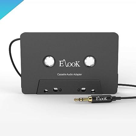 Elook Kfz Kassetten Aux Adapter 3 5 Mm Elektronik