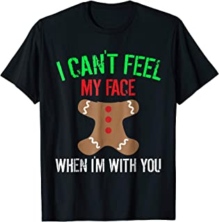Funny Gingerbread Man Christmas Shirt Cookie Baking Gift