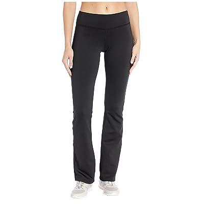Reebok Workout Ready Program Bootcut Pants (Black/Black) Women