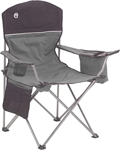 Coleman Portable Camping Quad Chair with 4-Can Cooler product image