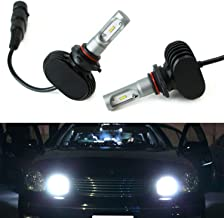 iJDMTOY Extremely Bright High Power Luxeon LED High Beam Daytime Running Light Kit For 1998-2005 Lexus IS GS ES RX, Toyota Sienna Solara, etc
