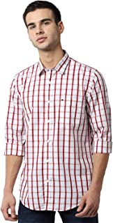 Peter England Men's Slim Fit Viroblock Casual Shirt