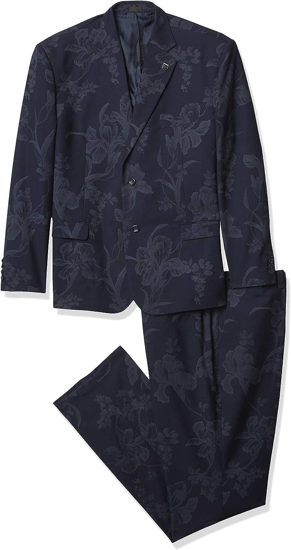 STACY ADAMS mens 2 Pc. Slim Fit Suit