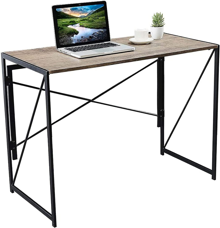 Office Desk Easy-Assemble Free shipping Computer Tucson Mall Small De Portable