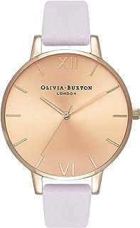 Olivia Burton Womens Quartz Watch, Analog Display and Leather Strap OB16BD110