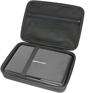 """pour DBPOWER 10.5"""" Lecteur DVD Portable EVA Dur Cas Voyage Etui Housse Sac Case by Khanka"""