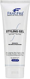 FRAGFRE Light Hold Hair Gel Fragrance Free 8 oz - Lightweight Styling Gel for Fine Fragile and Weakened Hairs - Paraben Fr...