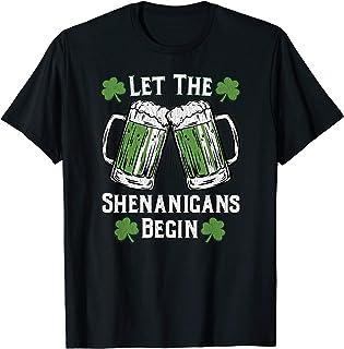 Let The Shenanigans Begin Shirt Men Women St Patricks Day
