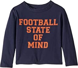 Super Soft Football State Of Mind Long Sleeve Tee (Toddler/Little Kids)